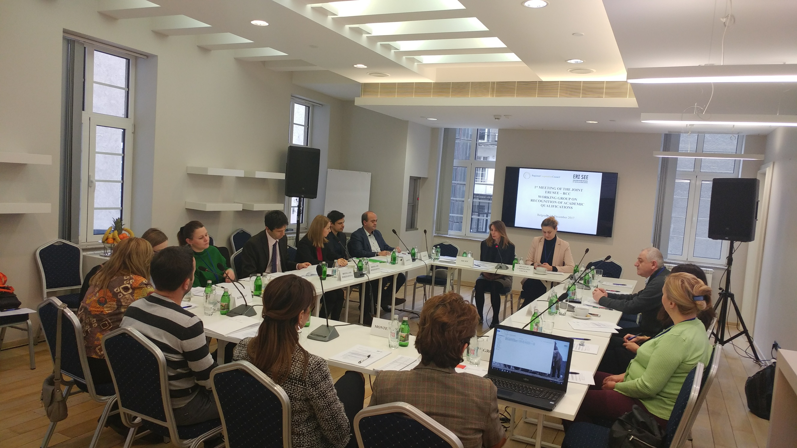 1st Meeting Of The Joint Working Group On Recognition Of Academic Qualifications (WG RAQ) – Belgrade, 15th December 2017