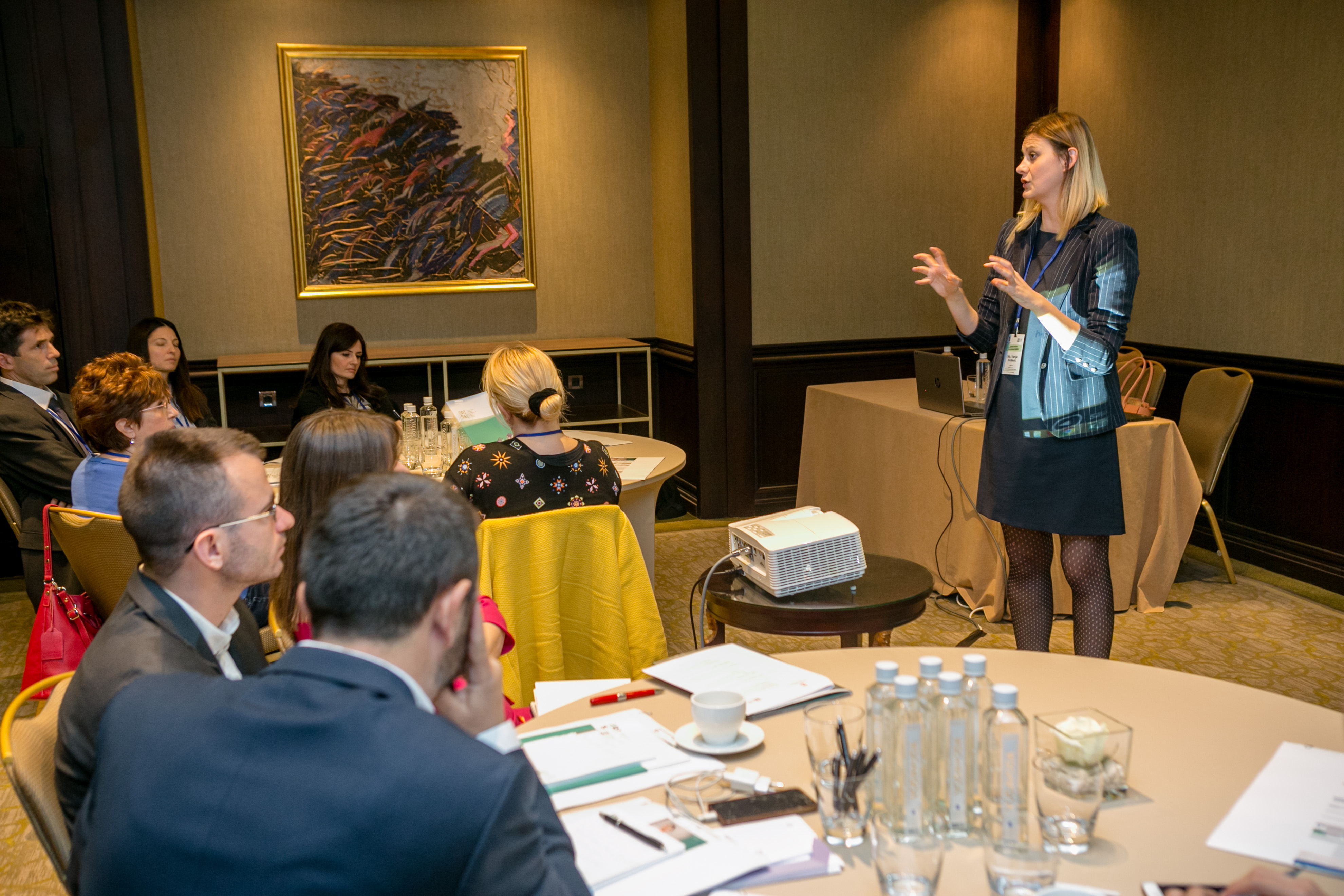 BEOGRAD 26.11.2018 ERI SEE tematska konferencija, vizija regionalne saradnje za kvalitetno obrazovanje i obuku.