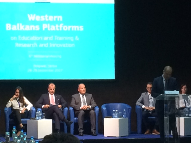 Western Balkans Platforms On Education And Training And Research, Belgrade, 28th – 29th September 2017