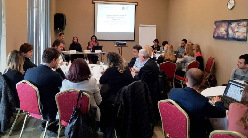 Seminar On Quality Assured Recognition Of Academic Qualifications, 27th March 2018, Podgorica