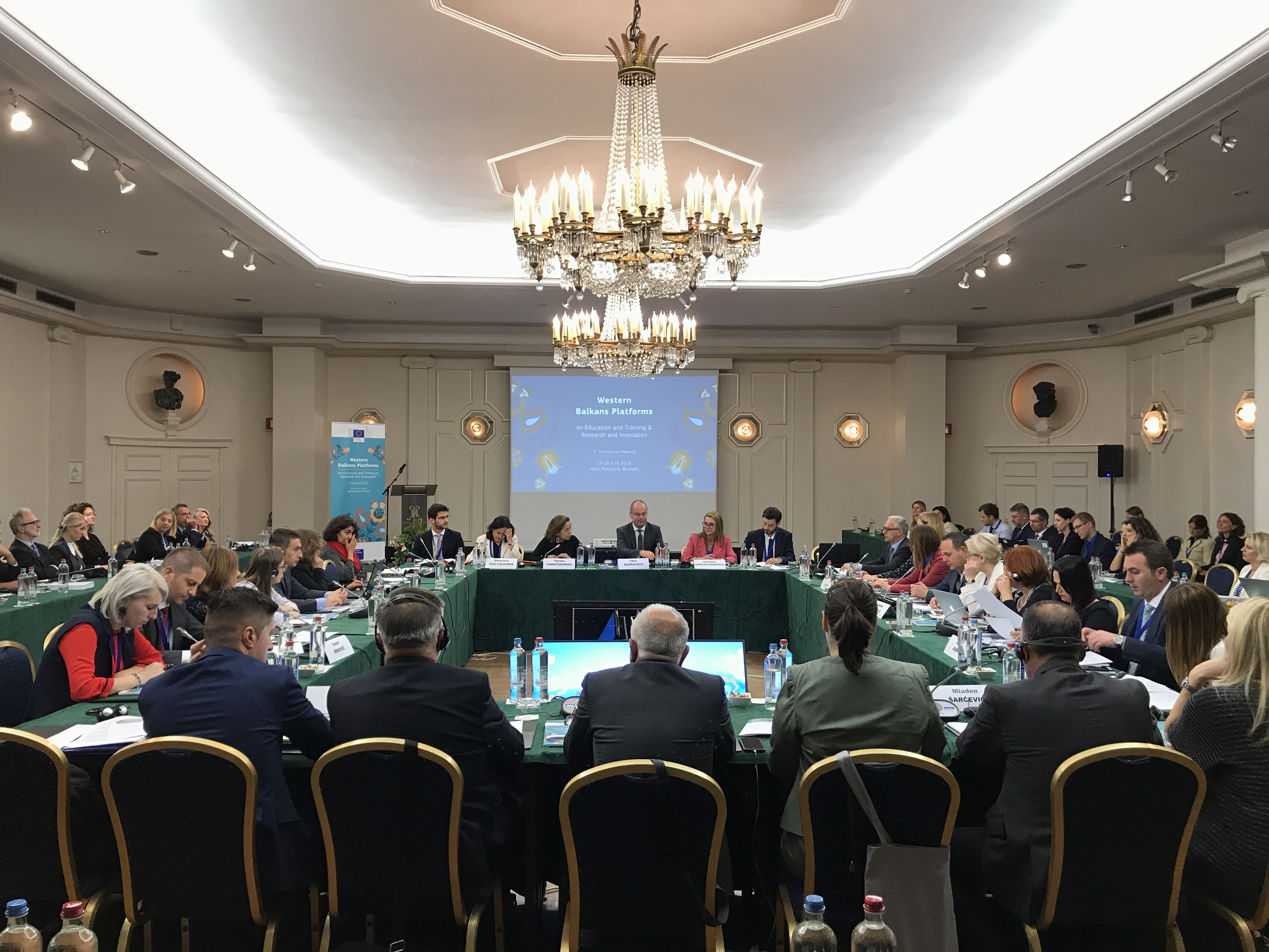 Western Balkans Platform On Education And Training, Brussels, 25th- 27th June 2018