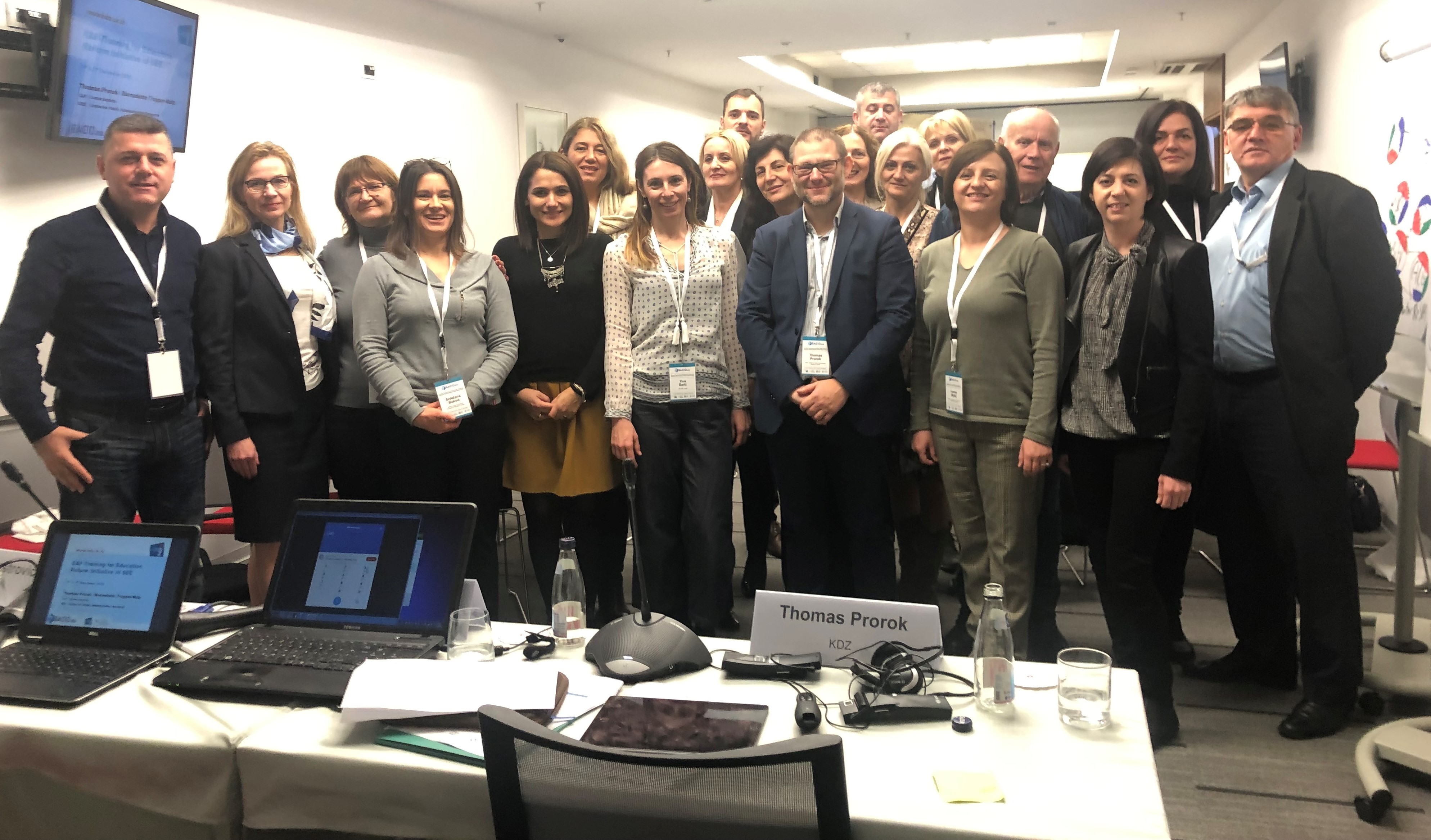 3rd Meeting Of The Regional Group Of Experts On Quality Assurance In General Education: Training On A Quality Management System – Common Assessment Framework (CAF), 6th And 7th December, Podgorica