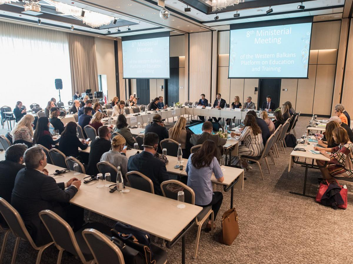 8th Ministerial Meeting Of The Western Balkans Platform On Education And Training