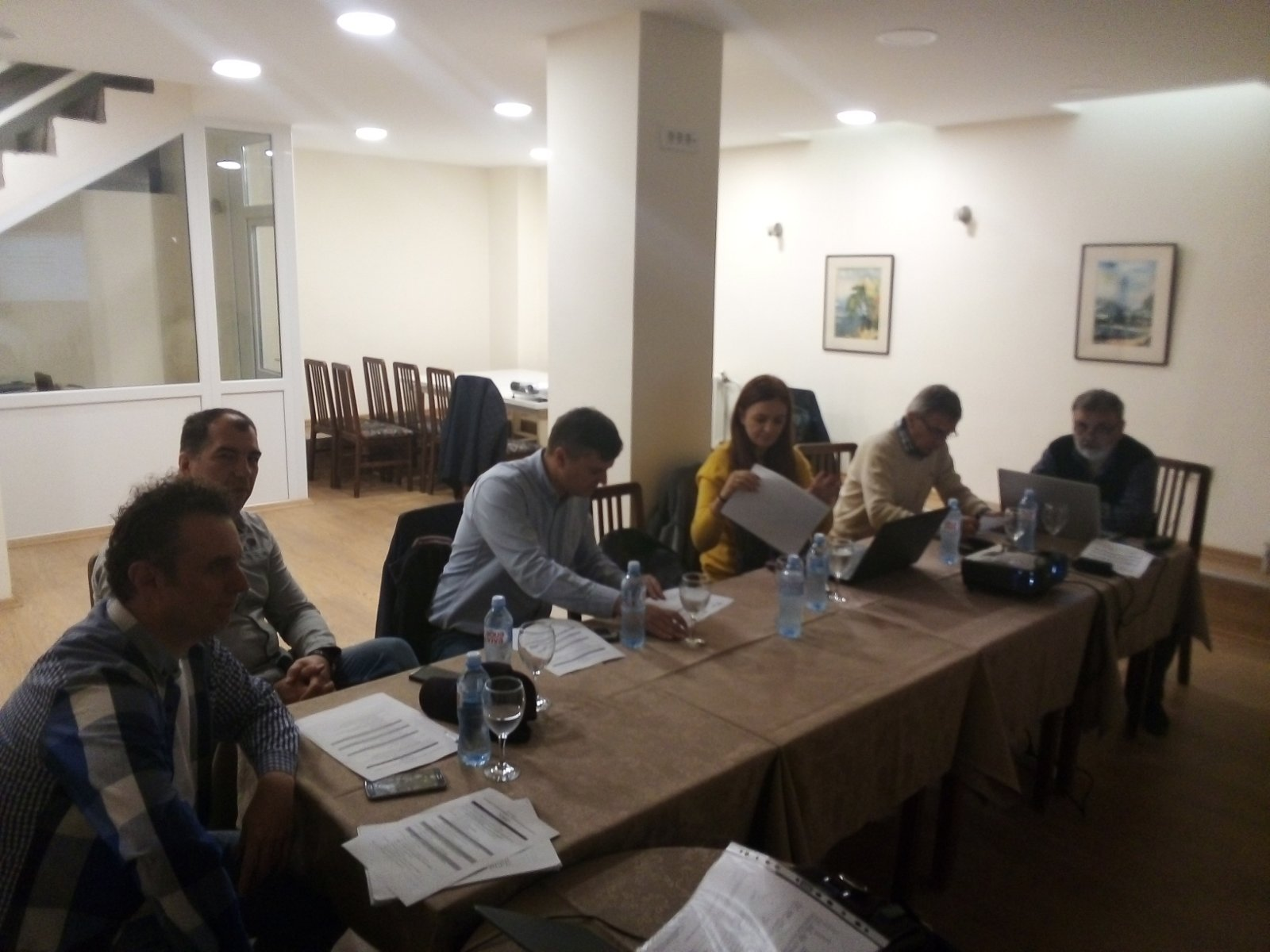 TO REGOS The Third Working Group Meetings For The Hotel And Restaurant Technician Occupational Standard In Skopje