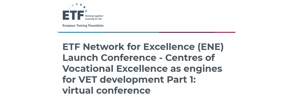 Launching Of The ETF Network For Excellence (ENE)