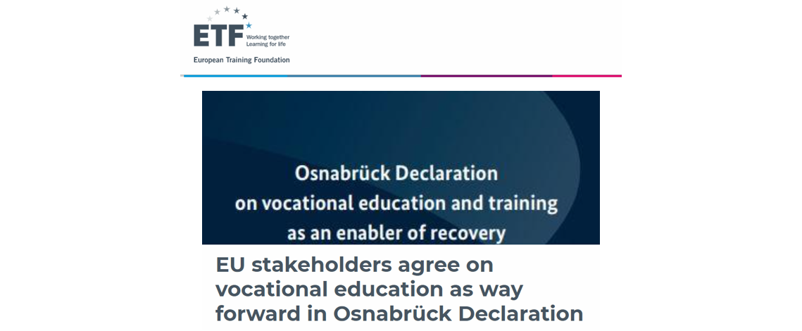 Post Riga Conclusions: EU Stakeholders Agree On Vocational Education As Way Forward In Osnabrück Declaration